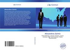 Bookcover of Alexandros Zaimis