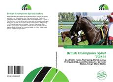 Обложка British Champions Sprint Stakes