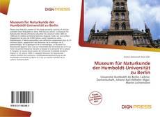 Buchcover von Museum für Naturkunde der Humboldt-Universität zu Berlin