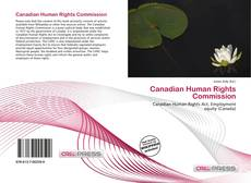 Bookcover of Canadian Human Rights Commission