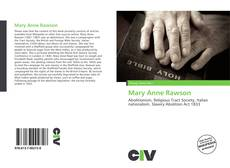 Bookcover of Mary Anne Rawson