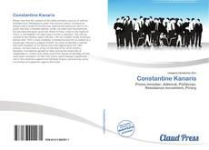Bookcover of Constantine Kanaris