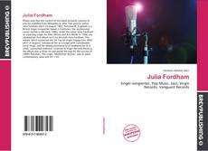 Обложка Julia Fordham
