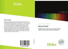 Capa do livro de Anne Ford