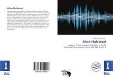 Alice Halstead kitap kapağı