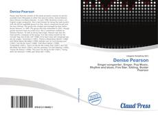 Bookcover of Denise Pearson