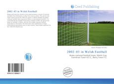 Bookcover of 2002–03 in Welsh Football