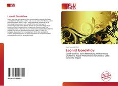 Bookcover of Leonid Gorokhov