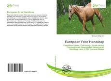 Bookcover of European Free Handicap