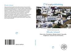 Bookcover of Rhode Island