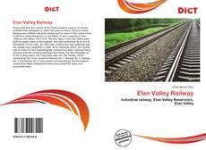 Bookcover of Elan Valley Railway