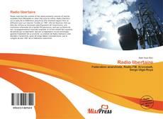 Bookcover of Radio libertaire
