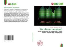 Bookcover of Gary Benson (musician)