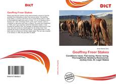Bookcover of Geoffrey Freer Stakes