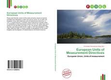 Portada del libro de European Units of Measurement Directives