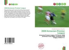 Portada del libro de 2009 Armenian Premier League