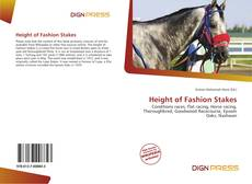 Bookcover of Height of Fashion Stakes