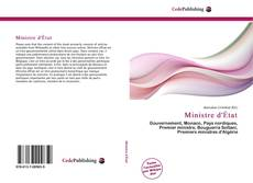 Обложка Ministre d'État