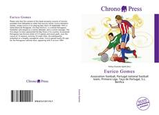 Capa do livro de Eurico Gomes