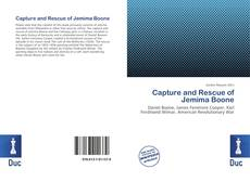 Capture and Rescue of Jemima Boone的封面