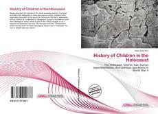 Portada del libro de History of Children in the Holocaust