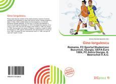 Portada del libro de Gino Iorgulescu