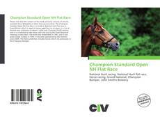 Capa do livro de Champion Standard Open NH Flat Race