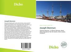 Buchcover von Joseph Denman