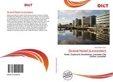 Portada del libro de Grand Hotel (Leicester)