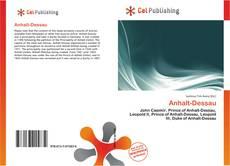 Capa do livro de Anhalt-Dessau