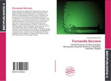 Portada del libro de Fernando Serrano