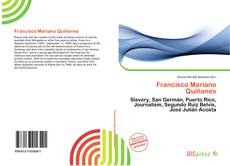 Bookcover of Francisco Mariano Quiñones