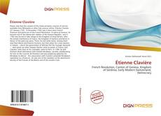 Обложка Étienne Clavière