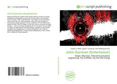 Couverture de John Gorman (Entertainer)