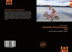 Bookcover of Disability Discrimination Act