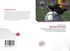 Capa do livro de Kostas Choumis