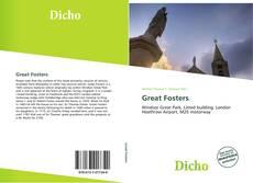 Обложка Great Fosters