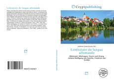 Couverture de Littérature de langue allemande
