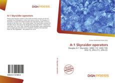 Portada del libro de A-1 Skyraider operators