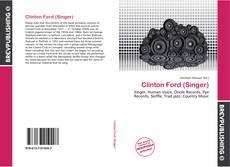 Copertina di Clinton Ford (Singer)