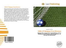Portada del libro de 1906–07 Belgian First Division
