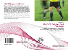 Bookcover of 1907–08 Belgian First Division