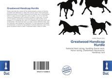 Bookcover of Greatwood Handicap Hurdle