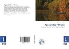 Borítókép a  Apostolides v Orams - hoz