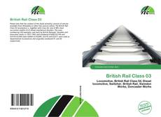 Capa do livro de British Rail Class 03