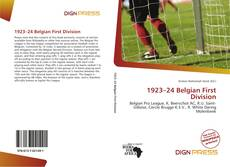 Bookcover of 1923–24 Belgian First Division