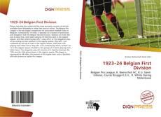 Portada del libro de 1923–24 Belgian First Division