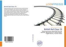 Bookcover of British Rail Class 10
