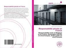 Bookcover of Responsabilité pénale en France