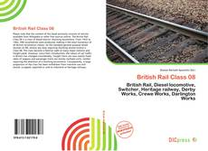 Bookcover of British Rail Class 08